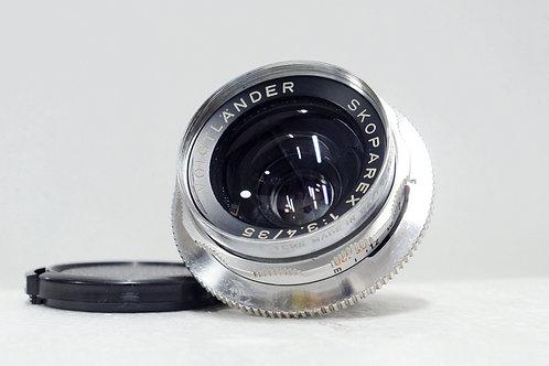 Voigtlander Skoparex 35mm f3.4, Made in 1960s Germany (新淨)