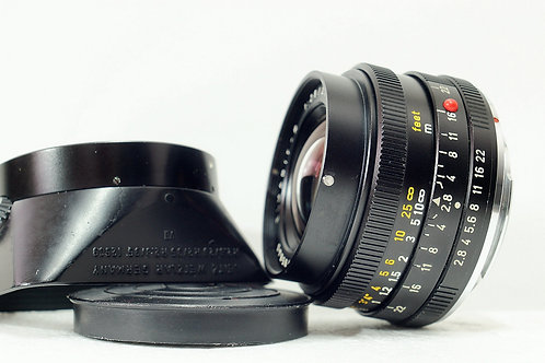 Leica R Elmarit 28mm f2.8, Made in Germany (接近90%New)