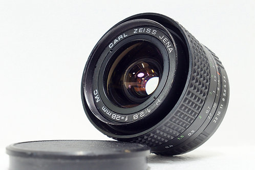 Carl Zeiss Jena MC 28mm f2.8, Germany (極新淨)