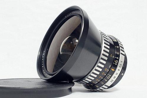 班馬版 Carl Zeiss Jena Flektogon 50mm f4, P6 (極新淨)