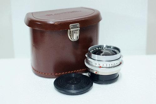 西德原福 Voigtlander Skoparex 35mm f3.4, Germany (90%New, 合收藏)