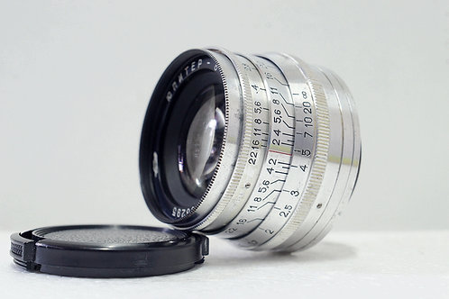 L39 俄仔 Jupiter 8 Sonnar 50mm f2, 1962年USSR (新淨)