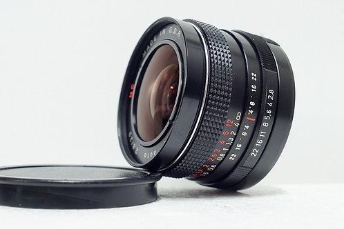 M42 Pentacon / Meyer 紅MC 29mm f2.8, Germany (近乎全新)
