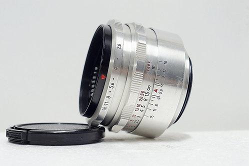 M42 東蔡鷹眼 Carl Zeiss Jena 1Q Tessar 50mm f2.8 (接近90%New)