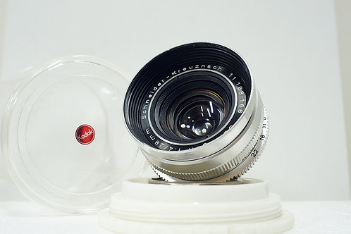 0.6米近攝版 真水無香Schneider Curtagon 28mm f4 (非常新淨)