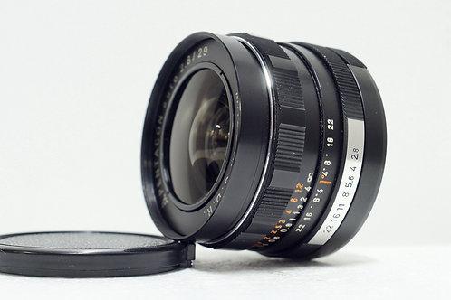M42 Pentacon / Meyer MC 29mm f2.8, Germany (90%New)