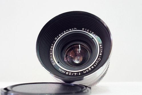 施耐德 Schneider Retina Curtagon 28mm f4 (接近90%New)