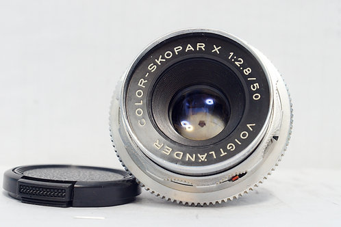 Voigtlander Color Skoparex 50mm f2.8, DKL (非常新淨)