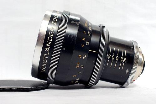 世上第一支變焦鏡 Voigtlander Kilfitt Zoomar 36-82mm f2.8 (恆定光圈)