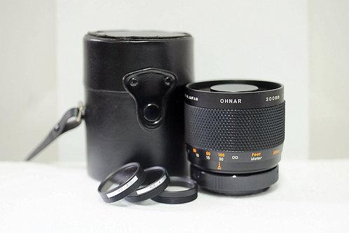 反射鏡 Mirror Refelx Ohnar MC 300mm f5.6, T2 Mount/Nikon (90%New)