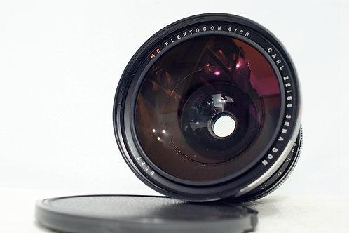 蔡司中幅名鏡 Carl Zeiss Jena MC Flektogon 50mm f4 (接近90%New)