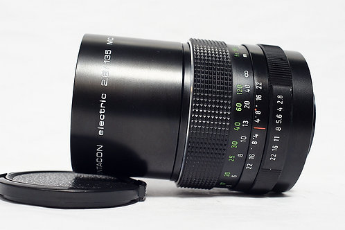 M42 Pentacon Electric MC 135mm f2.8, Made in Germany (接近90%New)