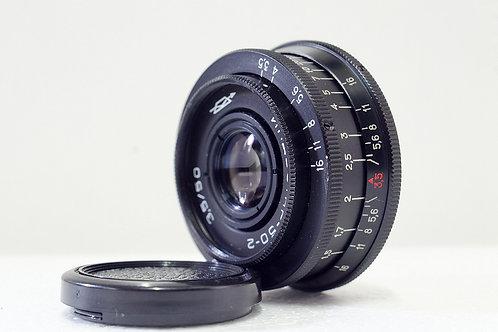 M42 蘇俄餅鏡 Industar-50 50mm f3.5, 1971 USSR (接近90%新淨)