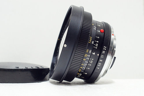 Leica R 廣角鏡王 Super Angulon-R 21mm f4, Germany (90%New)