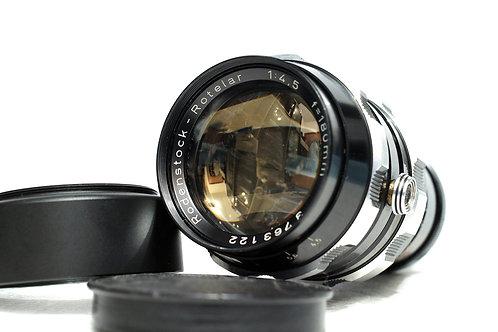西德羅敦 Rodenstock Rotelar 180mm f4.5, Exakta Mount