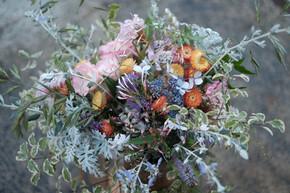 Strawflower and Rose Winter Bouquet (WV).jpg