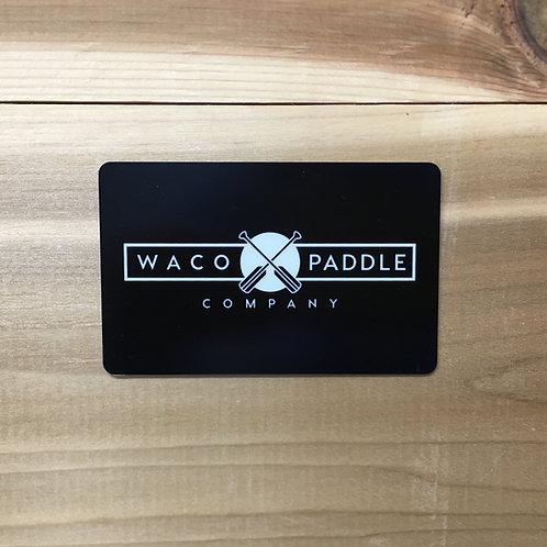 $25 Waco Paddle Company Gift Card