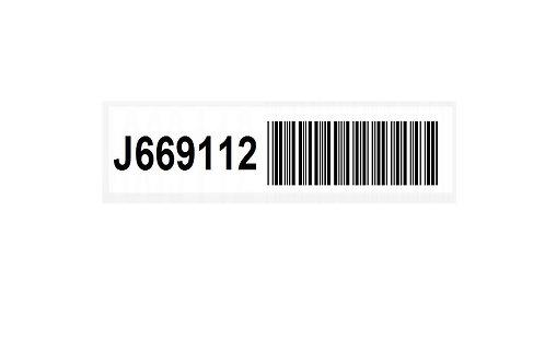 JALBELS -- Continuous Barcode Label (case)