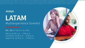 Avaya MultiExperience Summit Latam 2021