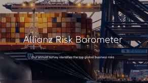 El Allianz Risk Barometer 2021 refleja el temor por el impacto del COVID-19