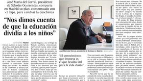 Scholas Occurrentes en El País, de España