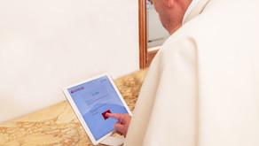El Papa Francisco dona 3 euros para la campaña Redondeo Digital Solidario