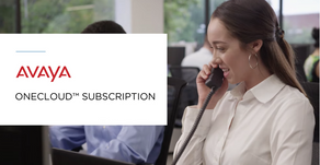 OneCloud™ Subscription, nuevo Portafolio de Soluciones de Avaya