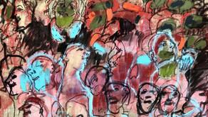 """Inauguración de la Exposición """"Convivir"""" de Liliana Golubinsky"""