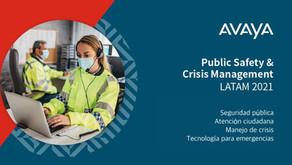 Avaya reunió a expertos durante el foro Public Safety & Crisis Management LATAM 2021