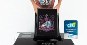 Ricoh presenta una nueva impresora textil de producción rápida e imagen excepcional