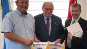 """Scholas y la Embajada Argentina promueven en China el """"Fútbol con Valores"""""""