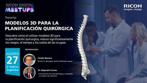 #RICOH digital meetup: Modelos 3d para la planificación quirúrgica