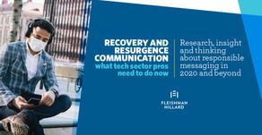 Comunicaciones de recuperación y resurgimiento: lo que el sector tecnológico debe hacer