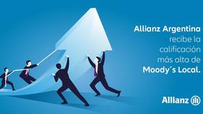 Moody's Local Argentina otorga la mejor calificación financiera a Allianz Argentina