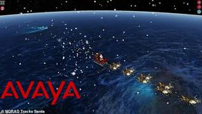 La tecnología de Avaya para rastrear el viaje de Papá Noel alrededor del mundo