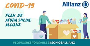 Allianz implementó un plan de ayuda social para contribuir con la mitigación de la pandemia