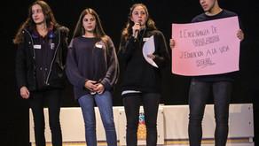 """#NdP Scholas Granada: Jóvenes reclaman una """"educación para la vida"""""""