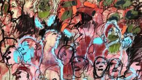 Arte – últimos días de la exposición Convivir de Liliana Golubinsky en Galería Rubbers