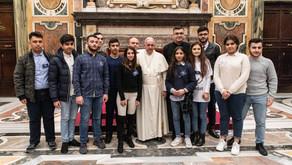 """Papa Francisco: """"Agradezco el trabajo que Scholas está realizando en Irak"""""""