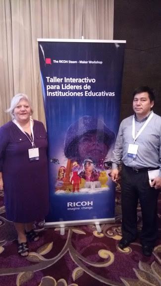 taller interactivo para lideres de instituciones educativas RICOH