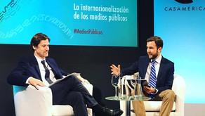 5 Encuentro anual de Corresponsales y Agregados de Prensa iberoamericanos en Casa de América