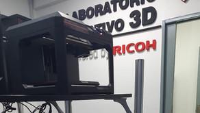 Ricoh colabora con la UAI para desarrollar mascarillas de protección facial con tecnología 3D