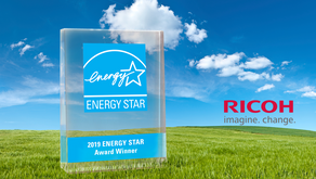 Ricoh gana el reconocimiento ENERGY STAR® por cuarto año consecutivo