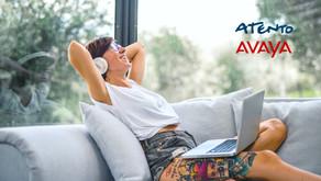 Atento logra habilitar agentes remotos con la tecnología de Avaya IX Contact Center
