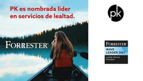 Forrester nombró a PK Global como líder en servicios de fidelización
