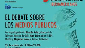 V Encuentro Anual de Corresponsales y Agregados de Prensa Iberoamericanos _26 de octubre 17.30h