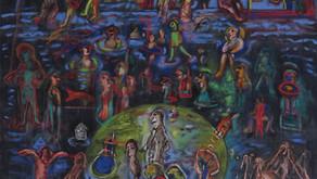 """Inauguración de la Exposición """"Iluminar los días…"""" de Liliana Golubinsky en la Galeria Kreisler"""