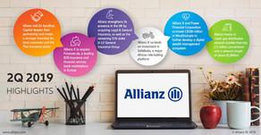 El Grupo Allianz reporta una fuerte rentabilidad en el segundo trimestre de 2019
