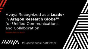 Avaya es nuevamente reconocida como líder en Comunicaciones Unificadas y Colaboración por Aragon Res