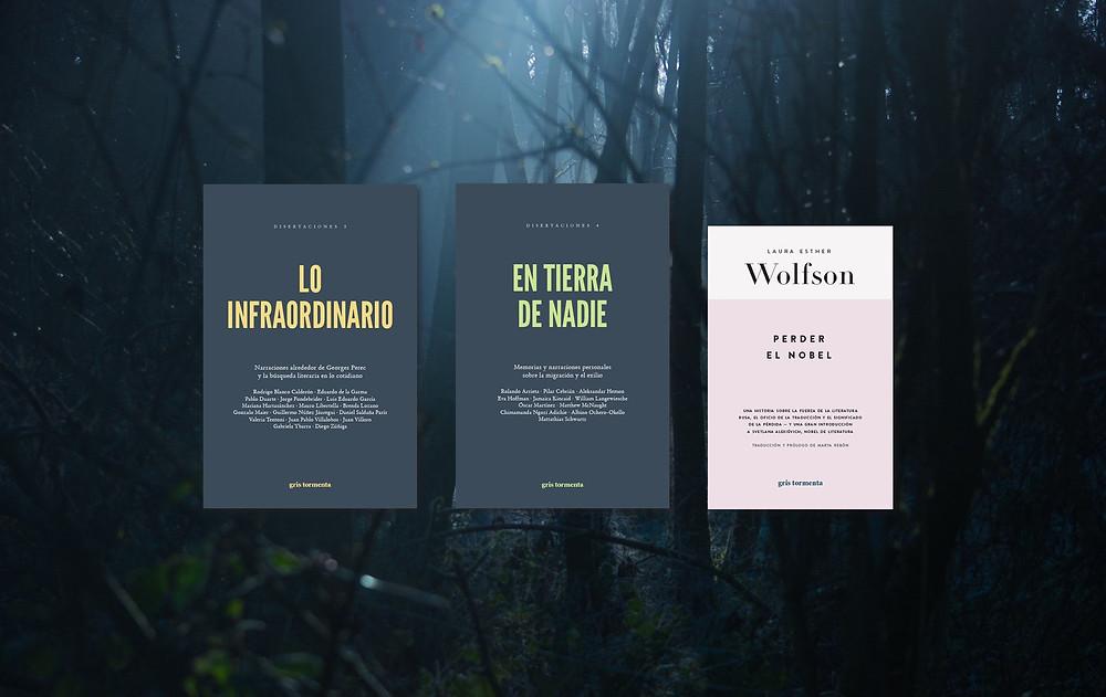 En tierra de nadie, sobre el fenómeno de las migraciones, y Lo infraordinario y Perder el Nobel, sobre fenómenos literarios como Perec y Alexiévich, son los lanzamientos de la editorial mexicana Gris Tormenta en España.